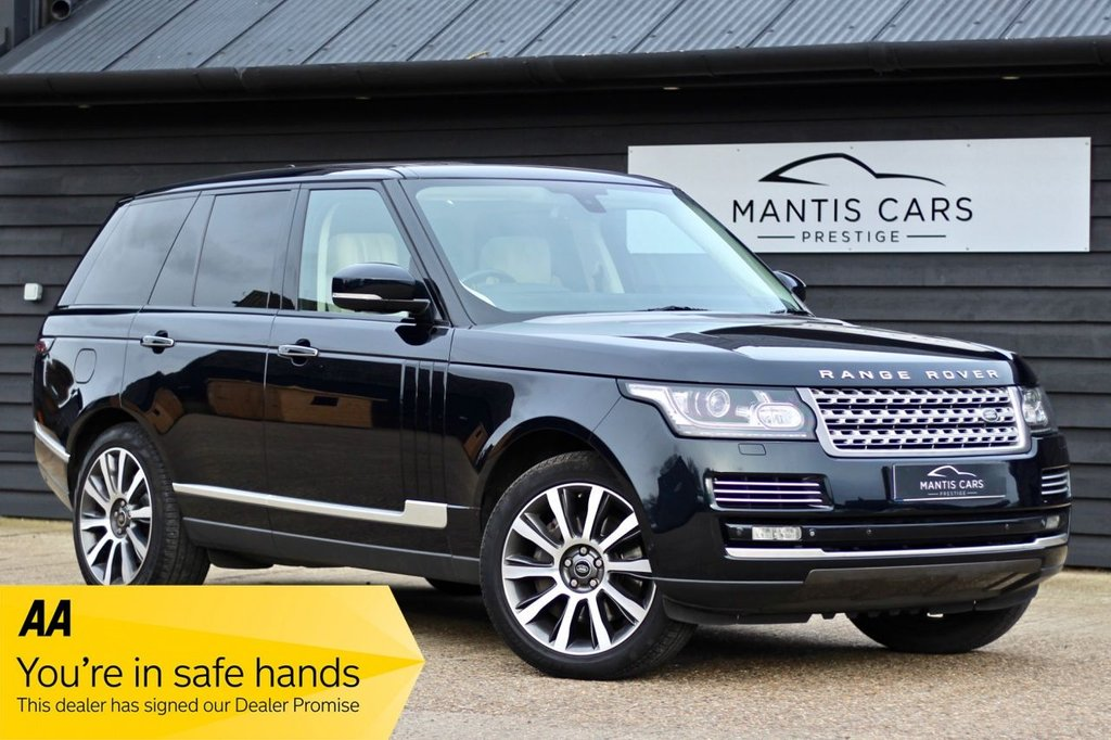 USED 2015 N LAND ROVER RANGE ROVER 4.4 SDV8 VOGUE SE 5d 339 BHP