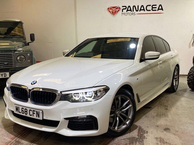 2018 68 BMW 5 SERIES 2.0 520D M SPORT 4d 188 BHP