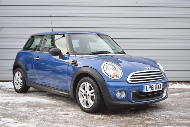 2012 61 MINI HATCH ONE 1.6 ONE 3d 98 BHP