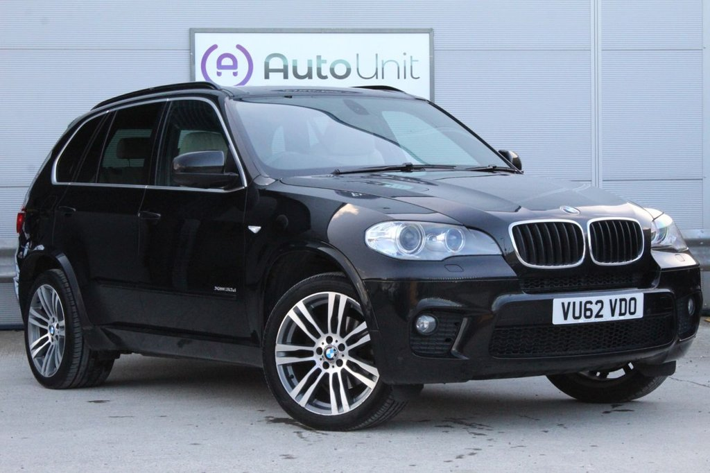 USED 2013 62 BMW X5 3.0 XDRIVE30D M SPORT 5d 241 BHP ~ FULL SERVICE HISTORY  FULL SERVICE HISTORY | SAT NAV | FULL LEATHER | OVER £53,000 JUST 8 YEARS AGO