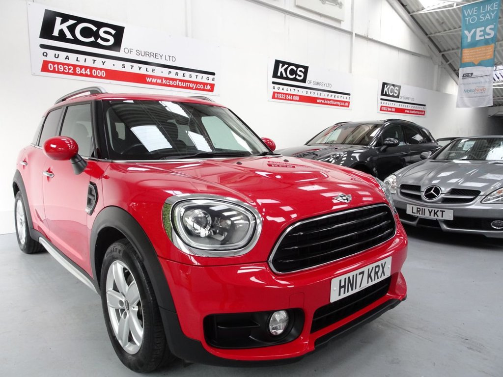 USED 2017 17 MINI COUNTRYMAN 1.5 COOPER 5d 134 BHP PAN ROOF-7K OPTIONS-SAT NAV