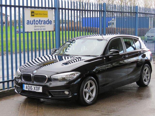 USED 2016 16 BMW 1 SERIES 1.5 116D SE 5d 114 BHP, ulez compliant satellite navigation SATELLITE NAVIGATION, BLUETOOTH, ULEZ COMPLIANT, ZERO ROAD TAX