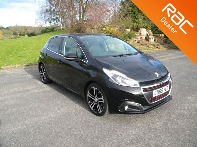 USED 2015 65 PEUGEOT 208 1.6 BLUE HDI S/S GT LINE 5d 120 BHP BY APPOINTMENT ONLY - Very Low Mileage! Alloy Wheels, DAB, Bluetooth, Cruise Control