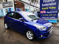 2017 FORD KA+ 1.2 ZETEC 5d 69 BHP, only 3900 miles, one owner from new £8495.00