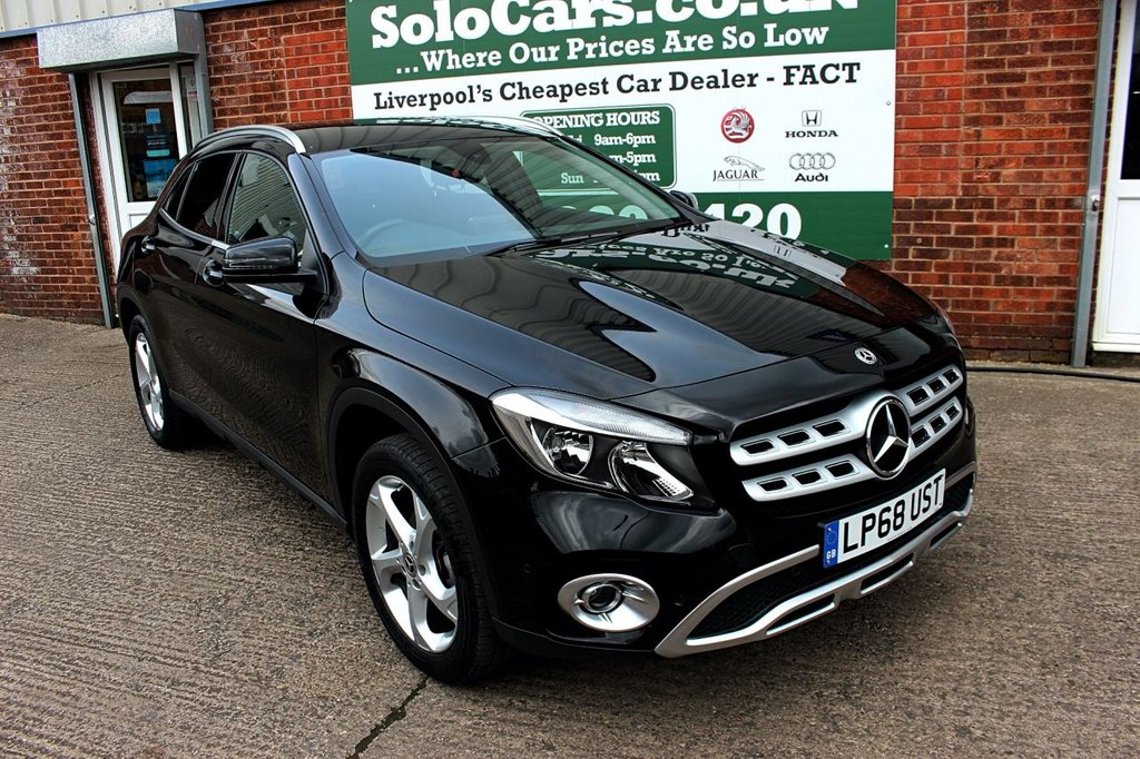 USED 2019 68 MERCEDES-BENZ GLA-CLASS 1.6 GLA 200 SPORT EXECUTIVE 5d AUTO 154 BHP +ONE OWNER +LEATHER + SAT NAV.