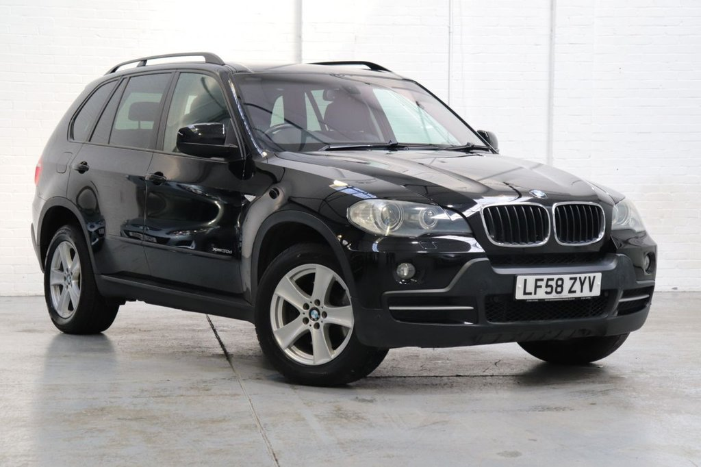 USED 2008 58 BMW X5 3.0 XDRIVE30D SE 5d 232 BHP Panoramic Roof + Cruise +Parking Aid Front Rear