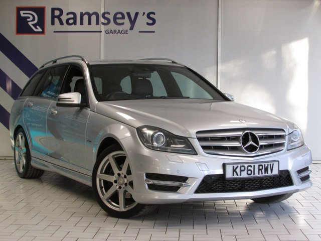 USED 2011 61 MERCEDES-BENZ C-CLASS 2.1 C200 CDI BLUEEFFICIENCY SPORT 5d 135 BHP