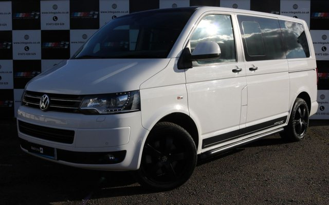 2012 62 VOLKSWAGEN CARAVELLE 2.0 EDITION 25 TDI 4MOTION 5d 178 BHP