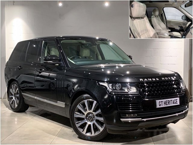 2013 62 LAND ROVER RANGE ROVER 3.0 TDV6 VOGUE [PAN][TV][PWR BOOT]