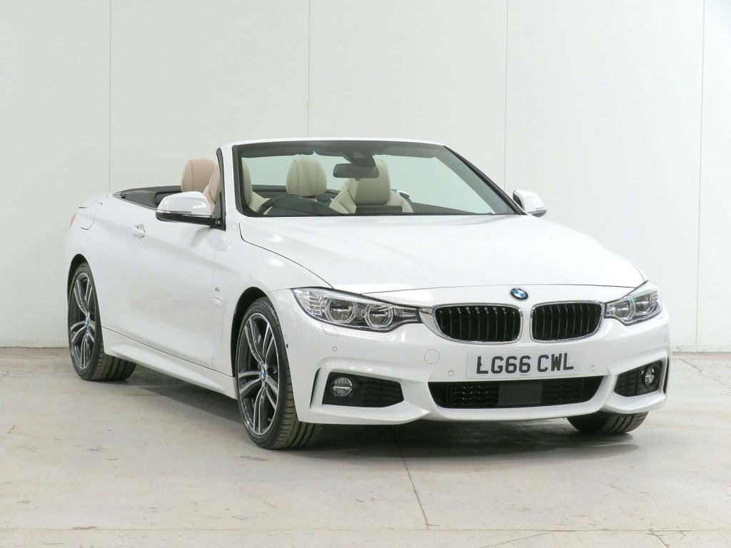 USED 2016 66 BMW 4 SERIES 3.0 440i M Sport Sport Auto (s/s) 2dr **£11,380 EXTRA**HOME-DELIVERY