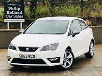 2013 SEAT IBIZA 1.2 TSI FR 3d 104 BHP £4995.00
