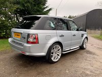 """USED 2010 LAND ROVER RANGE ROVER SPORT 3.0 TDV6 HSE 5d 245 BHP FANTASTIC CONDITION AND SPEC. VERY LOW MILES. 2010 FACELIFTED EXAMPLE. UPGRADED 22"""" ALLOY WHEELS. 4 EXCELLENT TYRES. FRIDGE. KEYLESS ENTRY. LOW RATE FINANCE AVAILABLE."""
