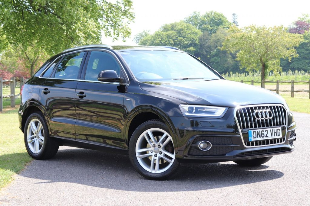 USED 2012 62 AUDI Q3 2.0 TDI S LINE 5d 138 BHP Parking Aid +Recently Serviced
