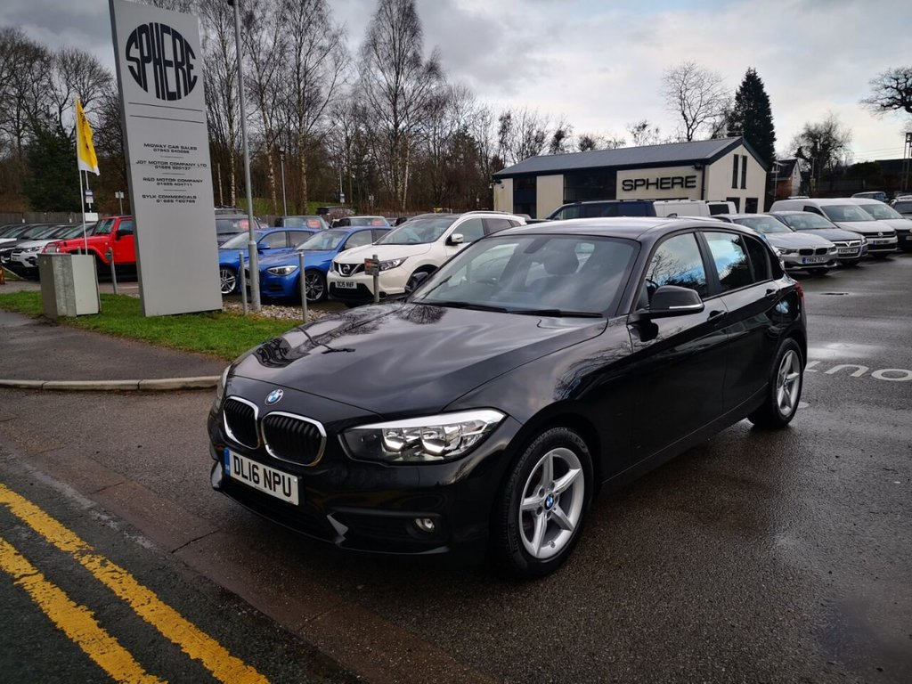 USED 2016 BMW 1 SERIES 1.5 116d ED Plus (s/s) 5dr