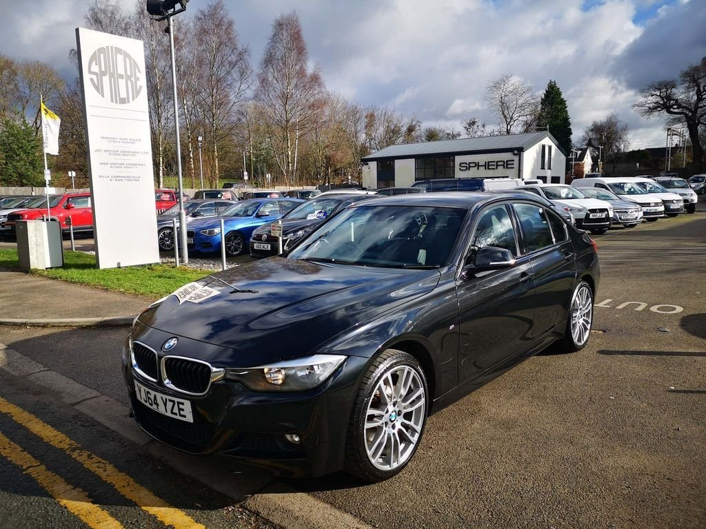 USED 2014 64 BMW 3 SERIES 2.0 320d M Sport xDrive (s/s) 4dr NAV#H/LEATHER#19S#DAB#PARK