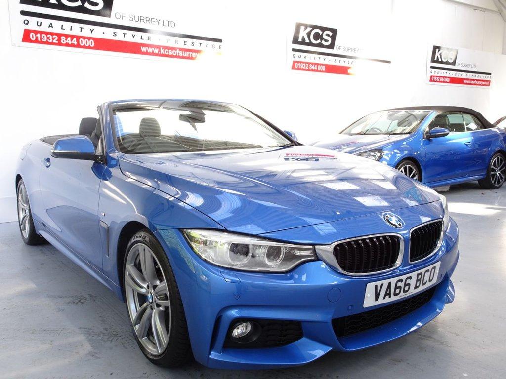 USED 2016 66 BMW 4 SERIES 2.0 420D M SPORT 2d 188 BHP M-SPORT PLUS PACK / PRO NAV