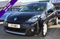 2011 RENAULT CLIO 1.1 GT LINE TOMTOM TCE 3d 100 BHP £3995.00