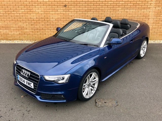 2014 14 AUDI A5  S LINE SPECIAL EDITION // Auto // Convertible // 2.0TDI // 175 BHP // px swap
