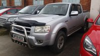 2009 FORD RANGER 2.5 THUNDER 4X4 D/C 2d 141 BHP NO VAT LOAD COVER ALLOYS LEATHER A/C £3990.00