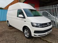 2016 VOLKSWAGEN TRANSPORTER T32 LWB HIGH ROOF HIGHLINE 4MOTION 150 PS *4x4*AIR CON* £16000.00