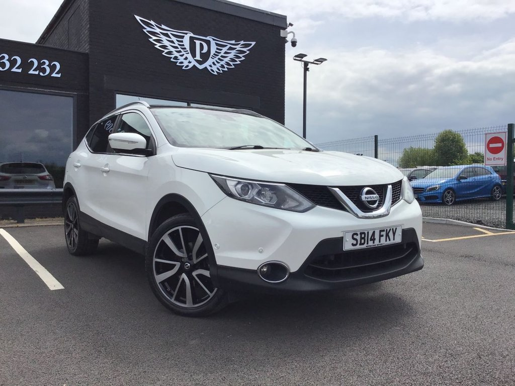 USED 2014 14 NISSAN QASHQAI 1.5 DCI TEKNA 5d 108 BHP CLICK AND RESERVE ON OUR WEBSITE