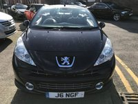 USED 2007 J PEUGEOT 207 1.6 GT COUPE CABRIOLET 2d 118 BHP