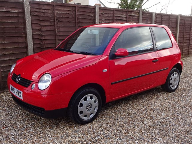 USED 2001 51 VOLKSWAGEN LUPO 1.4 E AUTOMATIC 3DOOR ULTRA LOW MILEAGE SMALL AUTOMATIC, MOT UNTIL DECEMBER!