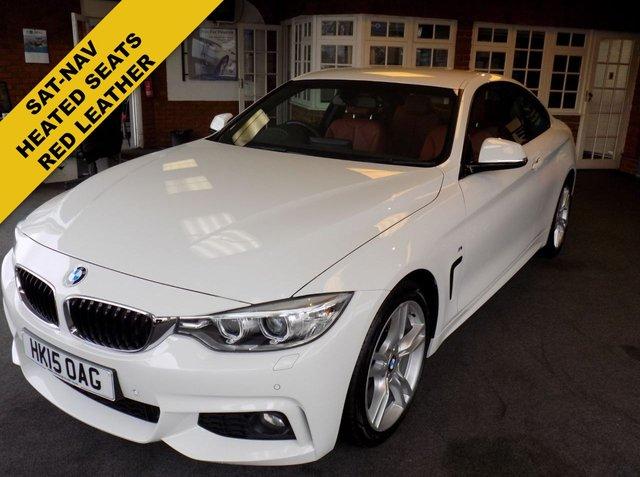 USED 2015 15 BMW 4 SERIES 2.0 420D M SPORT 2d 188 BHP