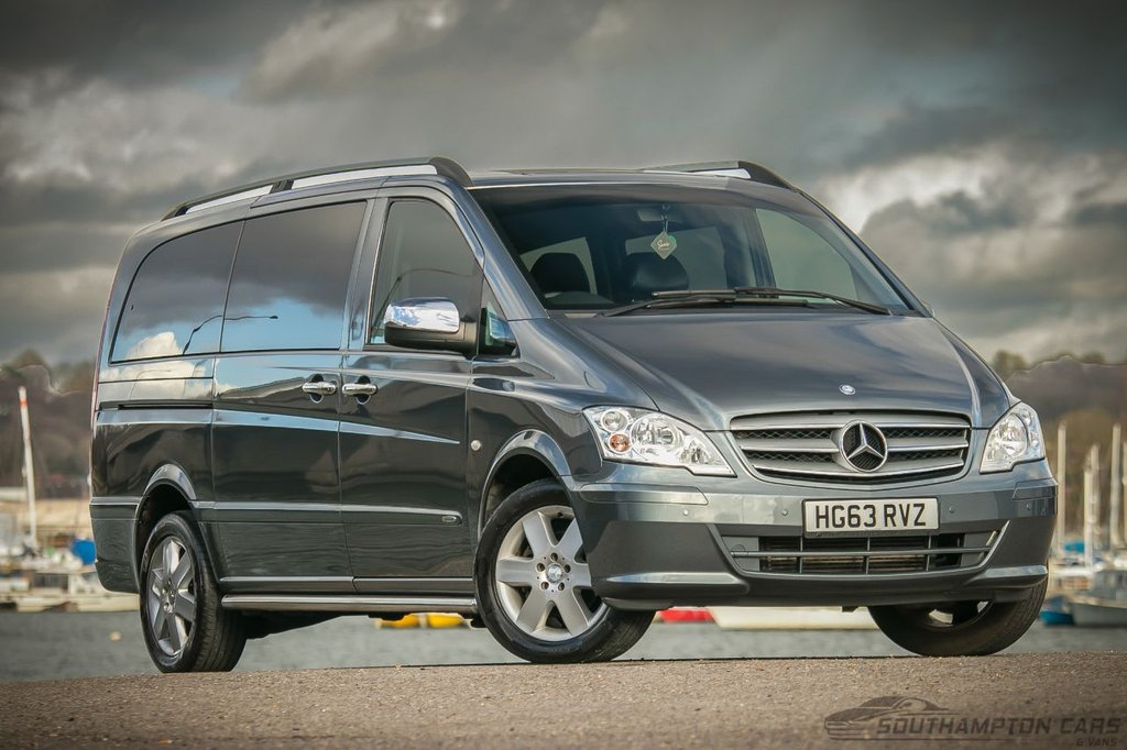 USED 2013 63 MERCEDES-BENZ VITO 2.1 116 CDI DUALINER 163 BHP MASIVE PRICE DROP ! ! _ _ 2 OWNERS_8 LEATHER SEATS_LONG