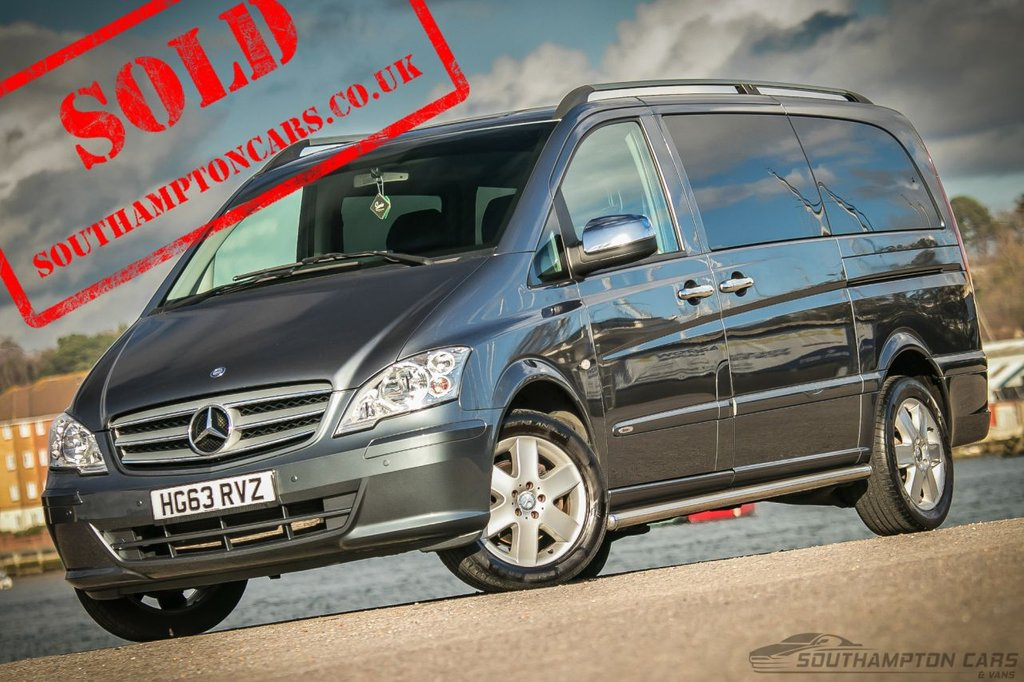USED 2013 63 MERCEDES-BENZ VITO 2.1 116 CDI DUALINER 163 BHP [8 SEATER] MASIVE PRICE DROP ! ! _ _ 2 OWNERS_8 LEATHER SEATS_LONG