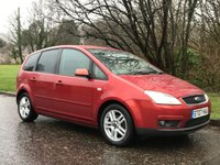 USED 2007 07 FORD C-MAX 1.8 C-MAX ZETEC 5d 125 BHP low mileage