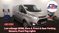 2017 FORD TRANSIT CUSTOM 2.0 290 TREND 105 BHP Low Mileage 39186, Air Con, Bluetooth Connectivity, Front Fog Lights and much more £11480.00