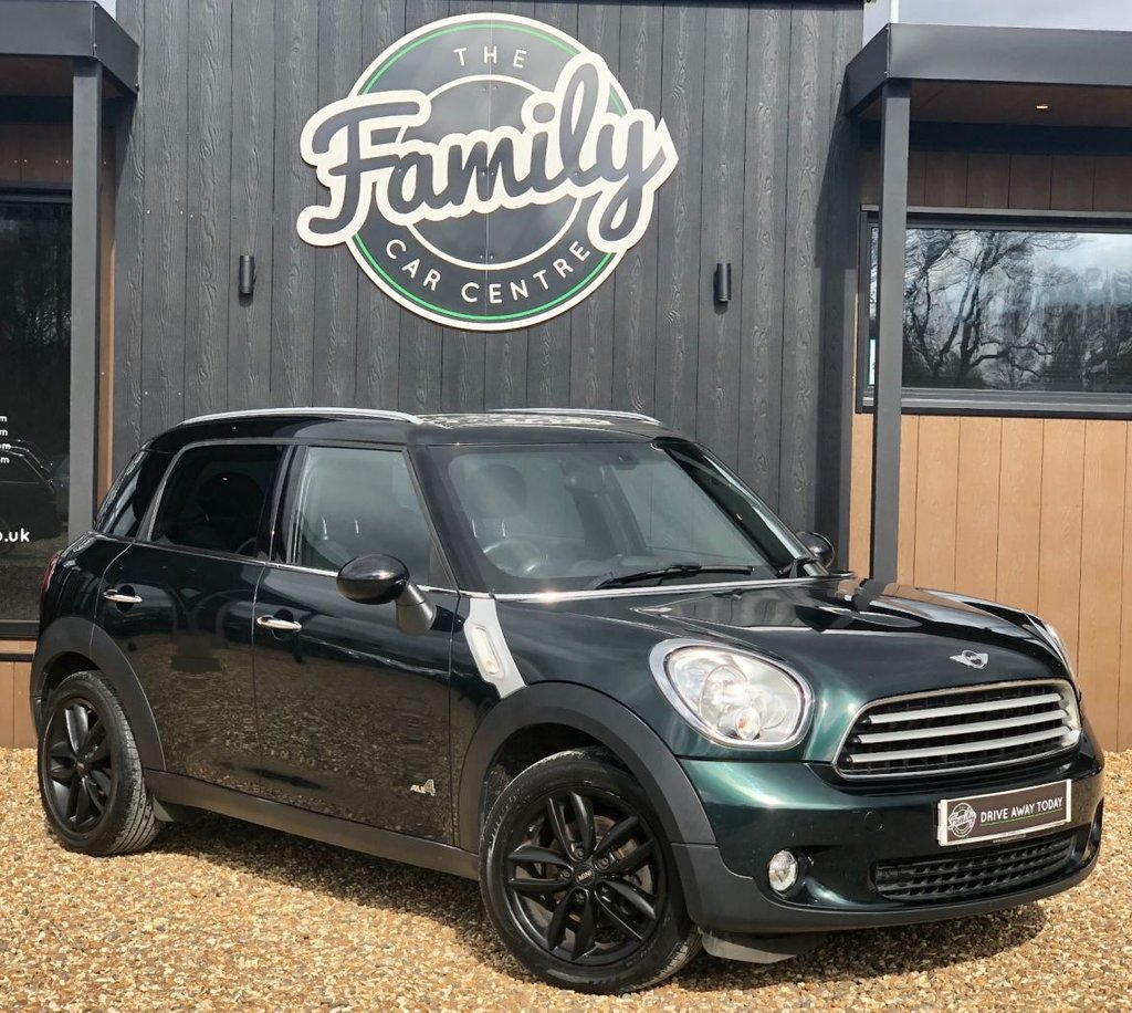 USED 2013 63 MINI COUNTRYMAN 1.6 COOPER D ALL4 5d 112 BHP PERFECT SMALL FAMILY CAR, WITH ITS FANTASTIC PRACTICALITY AND VERY SENSIBLE MILEAGE