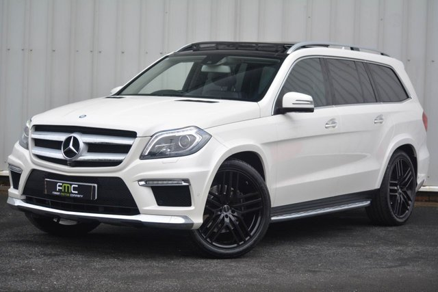 2015 65 MERCEDES-BENZ GL CLASS 3.0 GL350 BLUETEC AMG SPORT 5d 255 BHP **Pearl White - Over £15000 of Spec**
