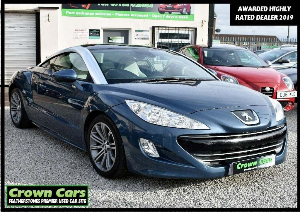 USED 2012 12 PEUGEOT RCZ 2.0 HDi GT 2dr RESERVE TODAY VIEW LATER