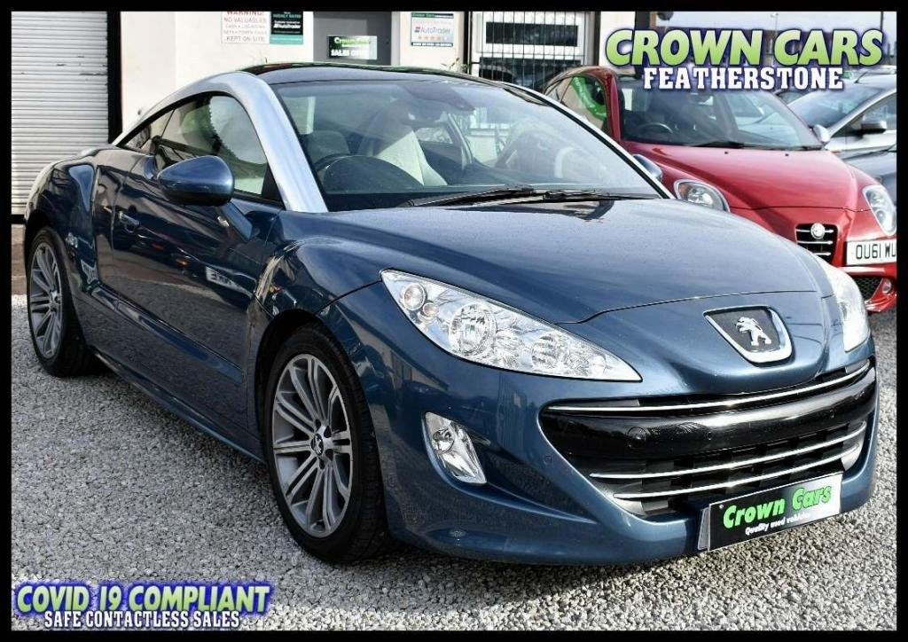 USED 2012 12 PEUGEOT RCZ 2.0 HDi GT 2dr AMAZING LOW RATE FINANCE DEALS