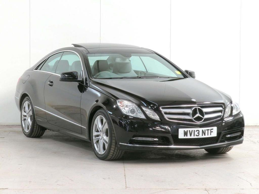 USED 2013 13 MERCEDES-BENZ E CLASS 2.1 E220 CDI BlueEFFICIENCY SE G-Tronic 2dr PANROOF**DAB**COMAND**DELIVERY