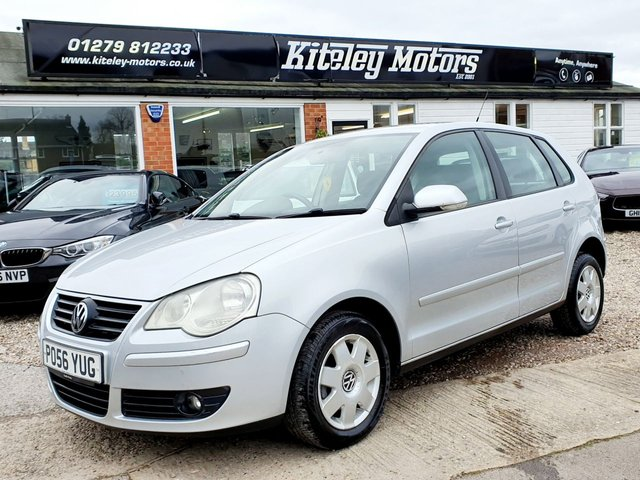 2006 56 VOLKSWAGEN POLO 1.2 S 55BHP 5 DOOR