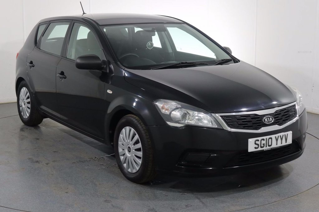 USED 2010 10 KIA CEED 1.4 1 5d 89 BHP 2 OWNERS with 10 Stamp SERVICE HISTORY