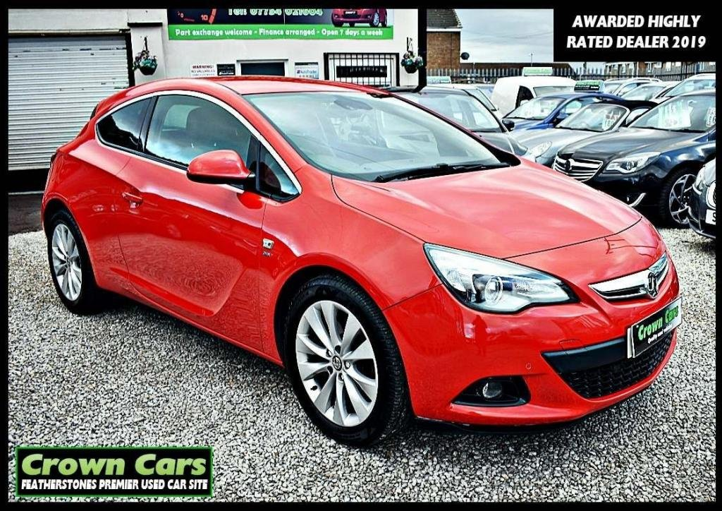 USED 2014 14 VAUXHALL ASTRA 1.7 CDTi ecoFLEX 109g SRi (s/s) 3dr RESERVE TODAY VIEW LATER
