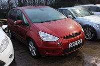 USED 2007 07 FORD S-MAX 2.0 TITANIUM TDCI 5d 143 BHP 7 Stamp SERVICE HISTORY