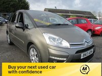 USED 2013 13 CITROEN C4 PICASSO 1.6 PLATINUM HDI 5d 110 BHP LOW MILEAGE EXCELLENT MPG