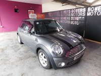 USED 2010 10 MINI HATCH ONE 1.4 ONE GRAPHITE 3d 94 BHP
