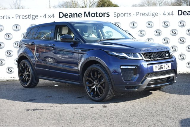 2016 16 LAND ROVER RANGE ROVER EVOQUE 2.0 TD4 HSE DYNAMIC 5d 177 BHP BLACK PACK