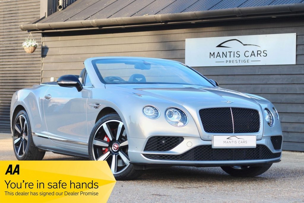 USED 2015 54 BENTLEY CONTINENTAL 4.0 GT V8 S 2d 521 BHP