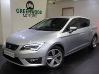 USED 2015 15 SEAT LEON 2.0 TDI FR TECHNOLOGY 5d 150 BHP