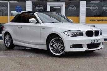 2011 BMW 1 SERIES 2.0 118I M SPORT 2d 141 BHP £8999.00