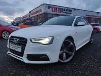 USED 2012 12 AUDI A5 2.0 TDI Black Edition 2dr LOW MILEAGE+BLACK EDITION+MINT