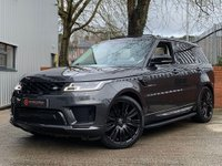 USED 2018 18 LAND ROVER RANGE ROVER SPORT 3.0 SD V6 Autobiography Dynamic Auto 4WD (s/s) 5dr 5 YEAR LAND ROVER SERVICE PLAN