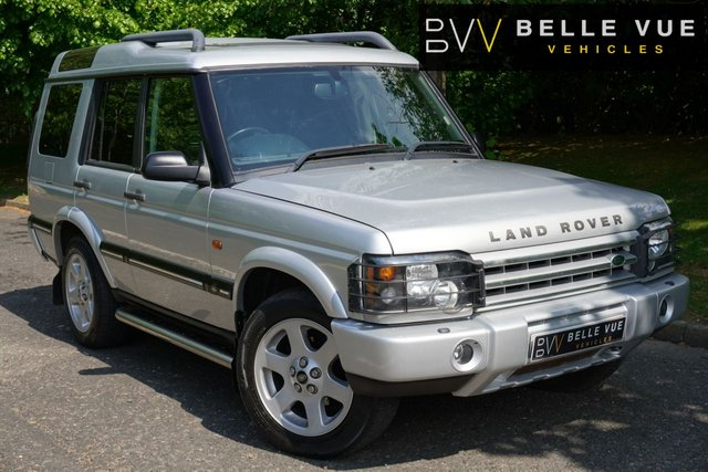 USED 2004 04 LAND ROVER DISCOVERY 2.5 ES PREMIUM ES TD5 5d 136 BHP *ONLY 96K MILES, 9 SERVICE STAMPS, HIGH SPEC!*